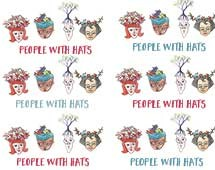People with hats