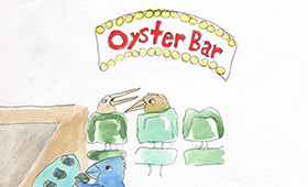 The world is your oyster bar