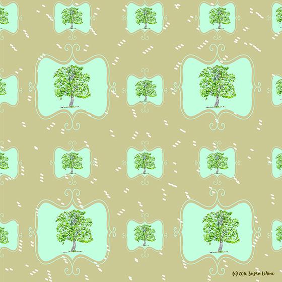 LeVine_tree pattern_web